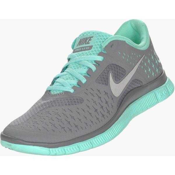 2beea69f0b4f gray and mint green nike free runs