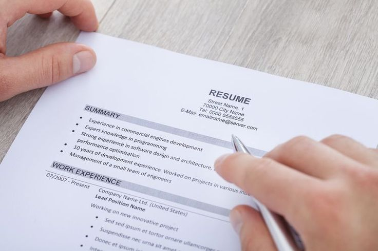 What to Include in a Resume Summary Statement