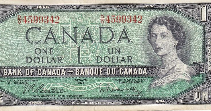Sir Thrift A lot: Canadian $1 Bills