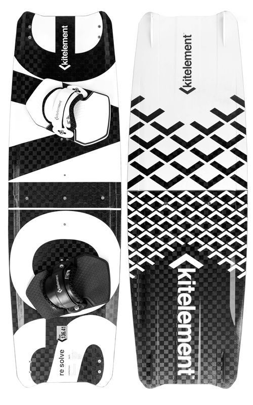 Kitelement re solve - split kiteboard