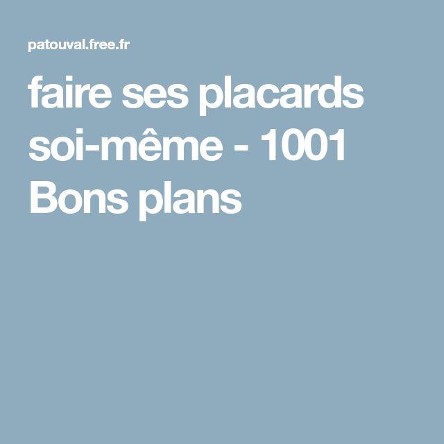 faire ses placards soi-même - 1001 Bons plans