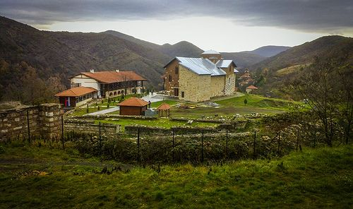 Banjska monastery (1313), Kosovo and Metohija 2013