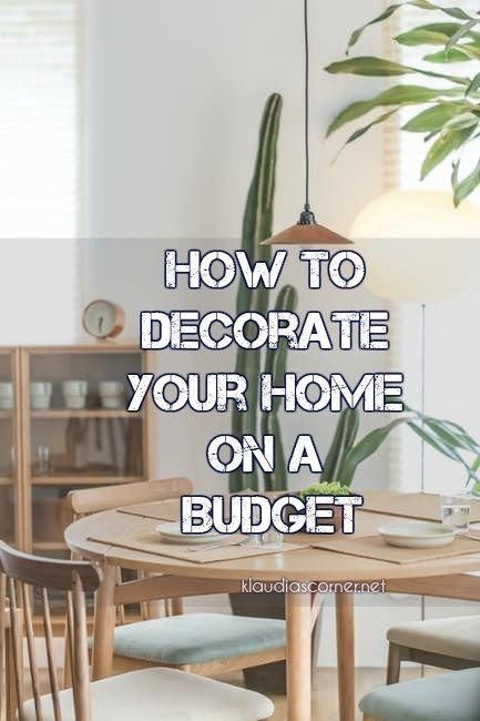 Home Improvement Ideas How To Decorate Your On A Budget Even When You Re Trying Be Frugal Decorating Can Expensive