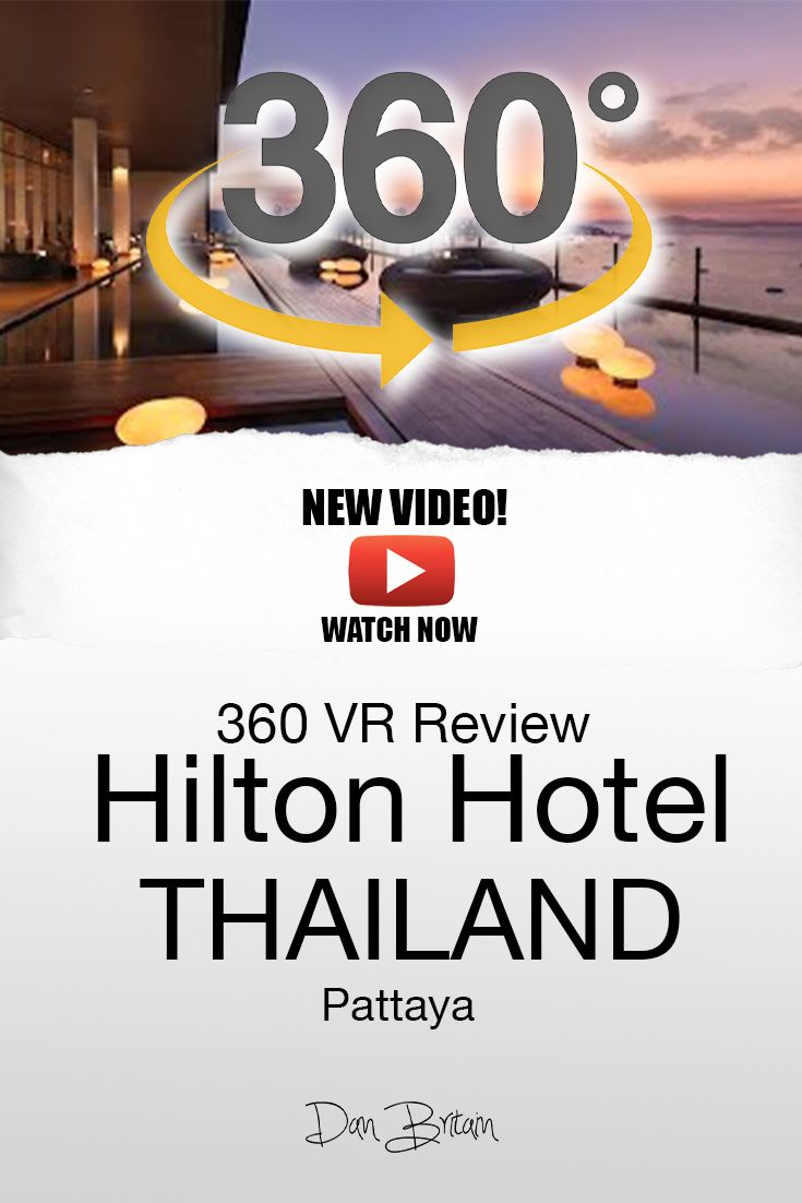 360 Hotel Review Of The Hilton Hotel In Pattaya Thailand