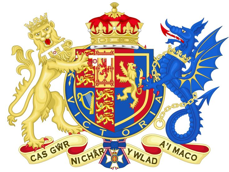 File:Coat of Arms of Sophie, Countess of Wessex.svg  Wyvern