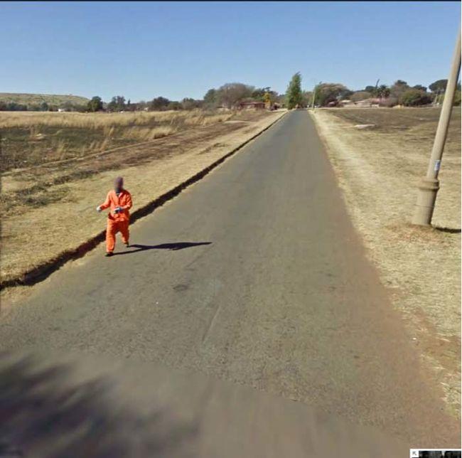 16 best google street view hoax images on Pinterest | Street view