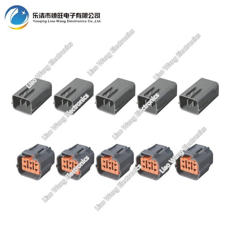 5 Set 6 Pin Valve exhaust gas recirculation plug DJ7065-2.2-11 / 21 Automotive connector #Affiliate