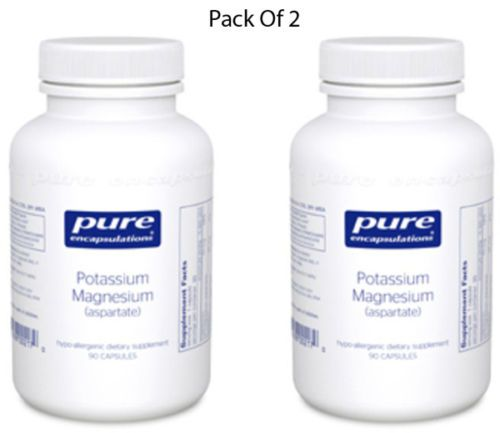 Pure-Encapsulations-Potassium-Magnesium-aspartate-90-VCaps-2-PACK-Exp-2-18-SD