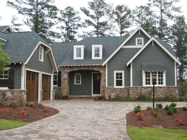 Best 25+ Craftsman exterior colors ideas on Pinterest | Outdoor house colors,  Exterior paint schemes and Exterior paint ideas