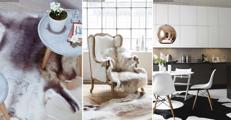 Winter-Ready Animal Hide Rugs | sheerluxe.com