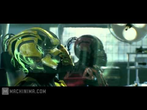 Mortal Kombat: Legacy: Cyrax and Sektor Skrillex Reptile Theme - YouTube