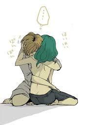 Resultado de imagen para abrazo anime bases