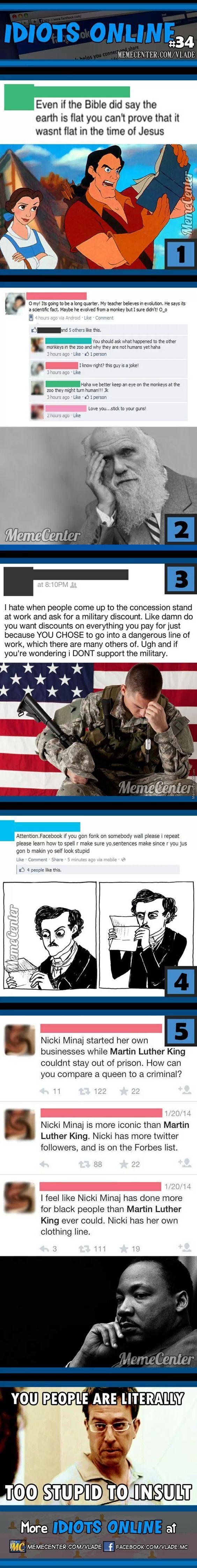 Idiots Online #34 - Meme Center: