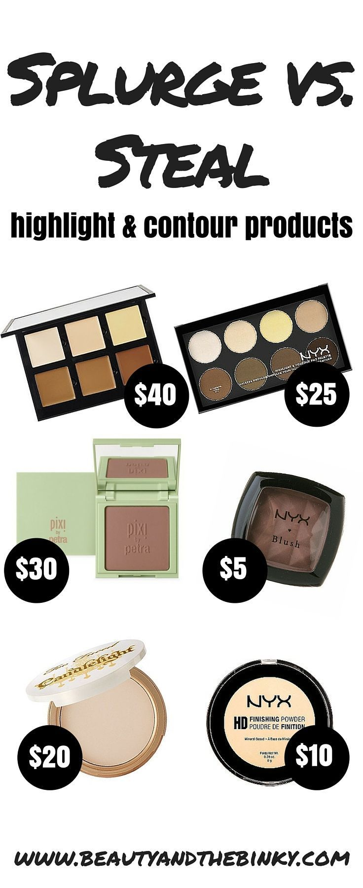 The Best Contouring Makeup for Fair Skin (Splurges & Steals!) - Beauty and the Binky::
