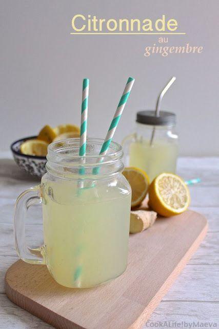 Citronnade au gingembre • Cook A Life! by Maeva
