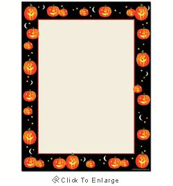 Pumpkin Patch Halloween Laser & Inkjet Printer Paper