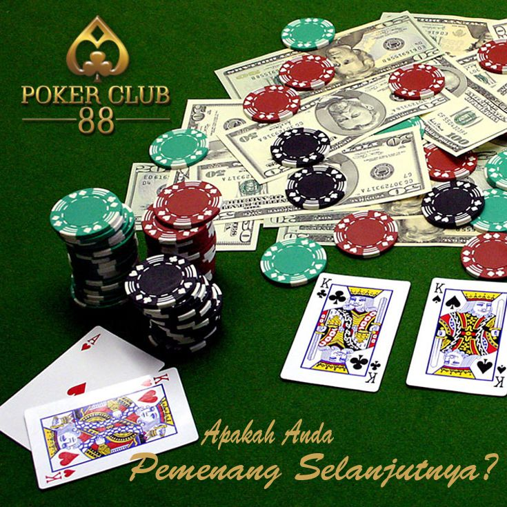 salah satu poker online dengan uang asli dan terpercaya, jangan lupa like fanpage facebook kami dan Bonus Top Referral Pokerclub88 Sampai 60% Segera Daftarkan Teman dan Kerabat Anda