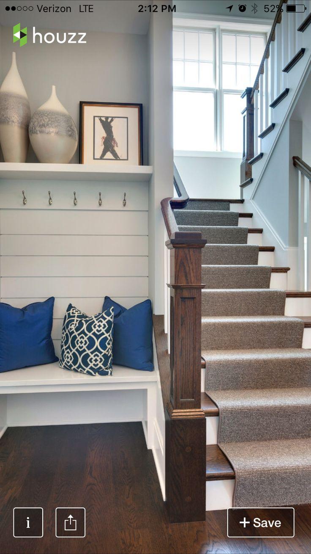 Foyer Seating Zones : Mudroom bridget pinterest basements and house