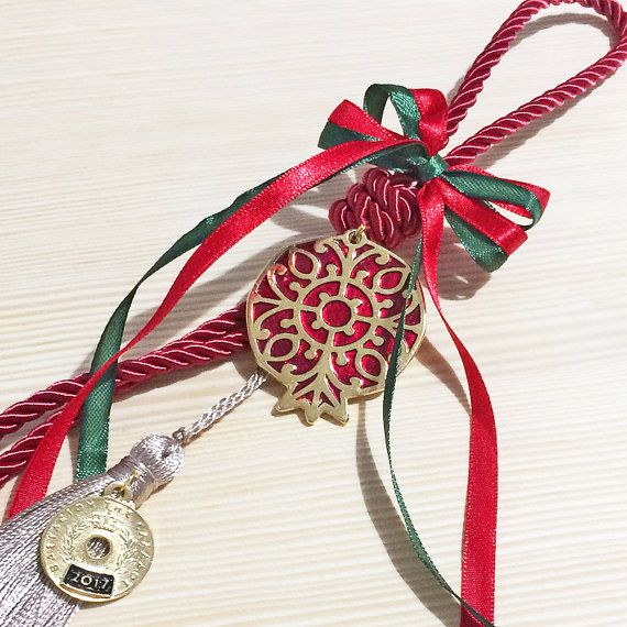 christmas pomegranate christmas decorations by christelboutique