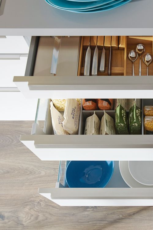 Die besten 25+ Küchenschubladenorganisation Ideen auf Pinterest - ordnung im küchenschrank