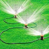 Summer Lawn Sprinkler Review | Traveling Water Oscillating