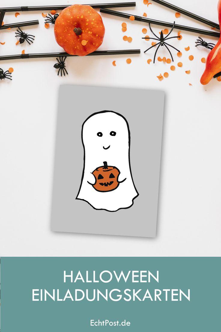 halloween einladungskarten bei echtpost.de   halloween