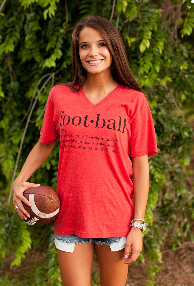 Football Tee from August Bleu