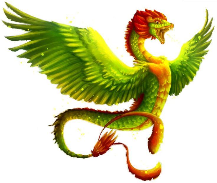 Quetzalcoatl by magichissi