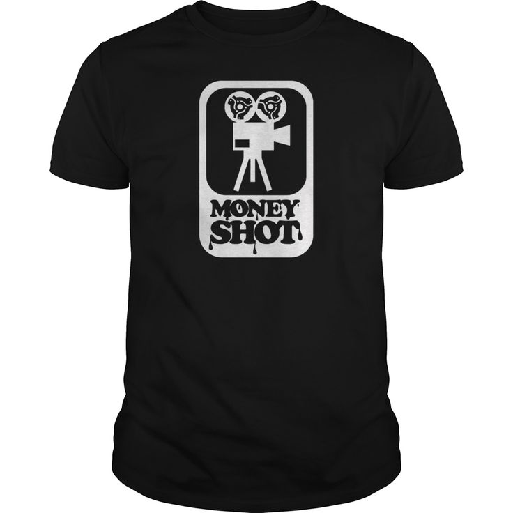 Money shot retro porn movie camera - Tshirt