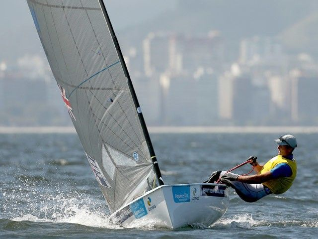 Result: Great Britain's Giles Scott wins gold in Finn class at Rio Olympics