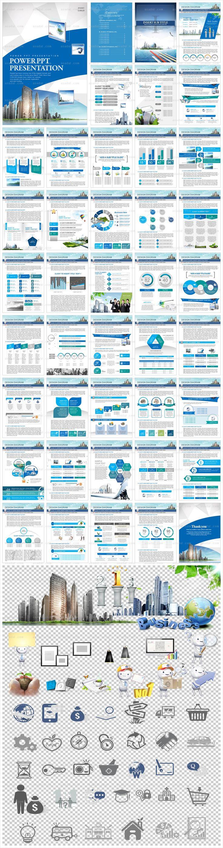 세로_비즈니스 회사소개서_0124(바니피티) 파워포인트 PPT 템플릿 디자인