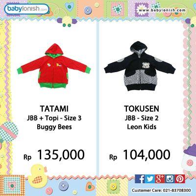 Dapatkan baju bayi & anak merek Tatami, Tokusen, Babylon, Ido, Costly, Fully. Hanya di babylonish.  Bersertifikat SNI Berkualitas  Gratis ongkir seluruh Indonesia.