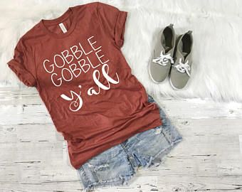 Gobble Gobble Gobble Sweatshirt Ugly Christmas Sweatshirt Off The Shoulder Gobble Gobble Gobble Slouchy Oversized Top For Women Xmas Gifts