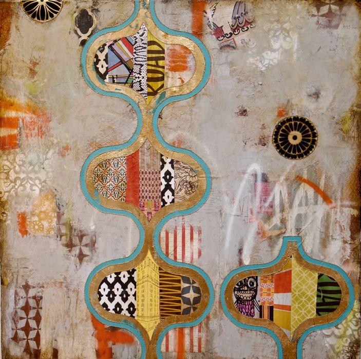 Jill RicciWall Art, Art Grey, Designart Piece, Artists Inspiration, Jill Ricci, Art Abstract, Ricci Collage, Modern Design, Layered Artworks