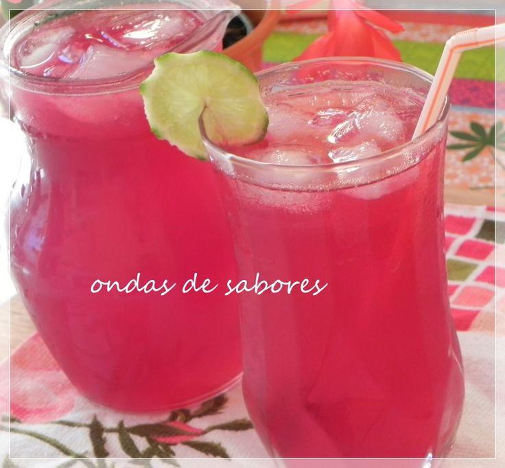 Ondas de Sabores: Pink Lemonade (limonada cor-de-rosa)