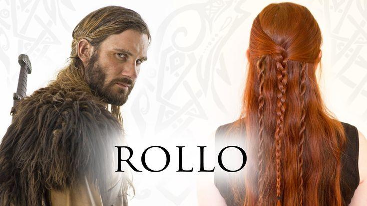 Vikings Hair Tutorial for Men - Rollo Lodbrok (Lothbrok)