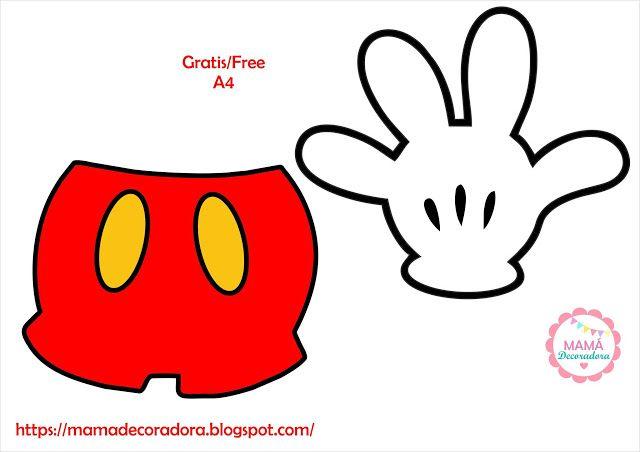 Mama Decoradora Free Printable Kit Imprimible Kit Imprimible Mickey Mouse Kits Imprimibles Kits Imprimibles Gratis Kits I Mickey Adesivos De Vinil Topper