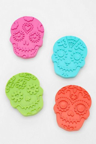 Sugar Skull Cookie Cutter - Set Of 4