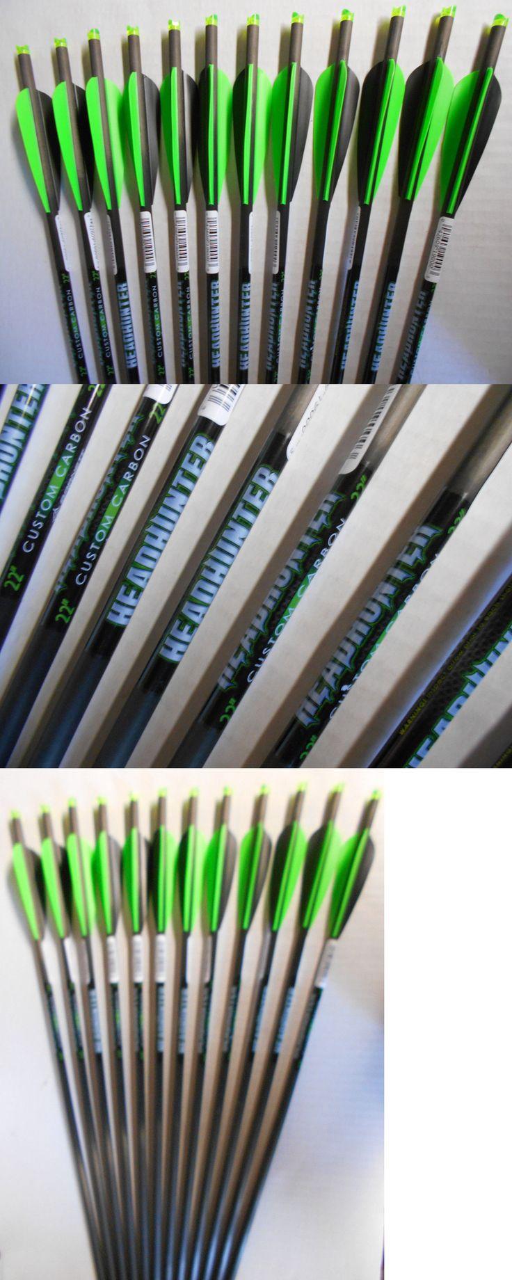 Crossbow Bolts 181309: @New@ 12- 22 Barnett Headhunter Carbon Crossbow Bolts! Head Hunter Arrows -> BUY IT NOW ONLY: $74.99 on eBay!