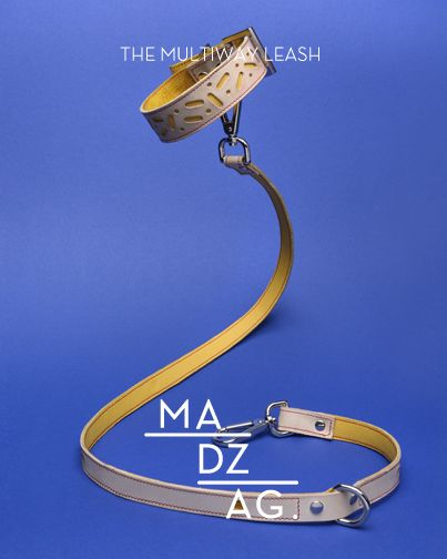 Bauhaus leash collection by MADZAG