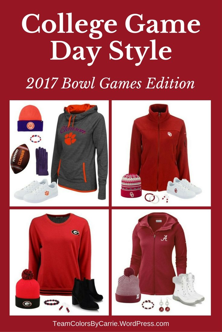 The college football bowl season is here, so it's time to get ready for game day in style!
