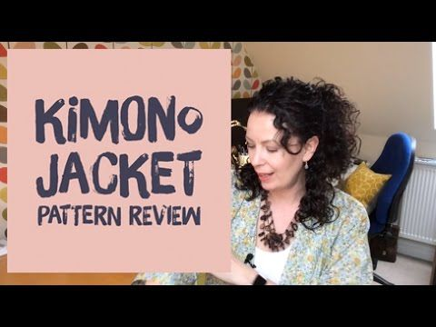 Hi everyone, this week I'm talking about the brand new Sew Over It Kimono Jacket pattern