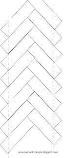 2 1/2 x 7 strips...tutorial