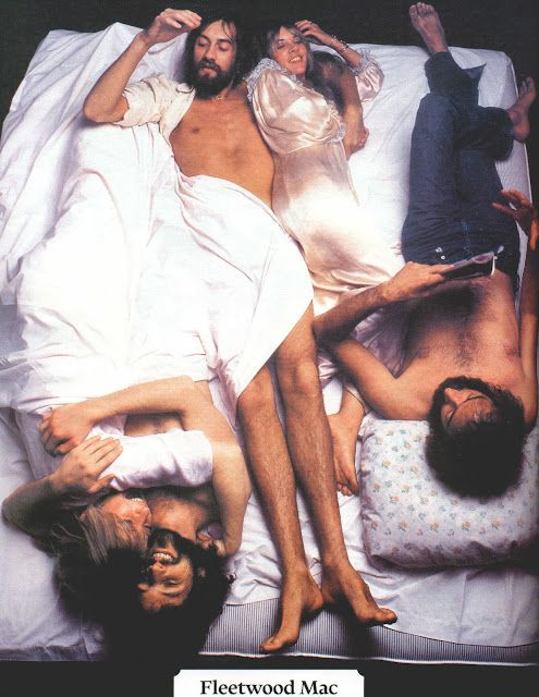 Fleetwood Mac in bed