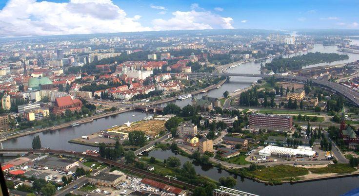 Szczecin excellent view