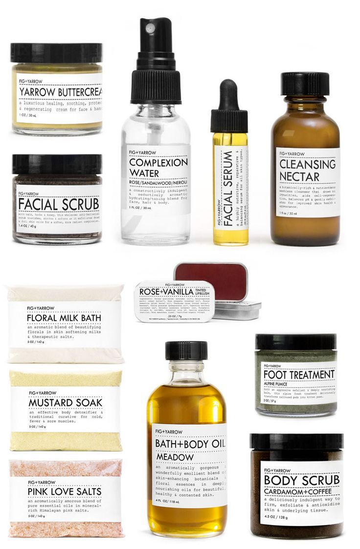 Beauty Rituals from Fig + Yarrow