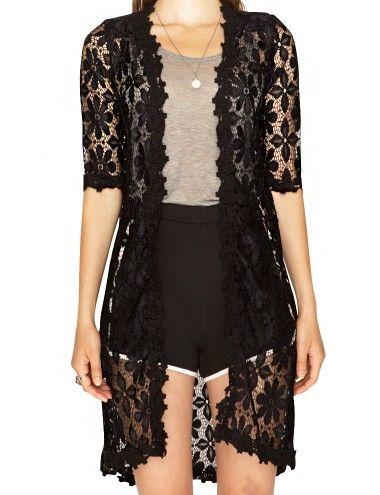 Find black lace cardigan at Macy's Macy's Presents: The Edit - A curated mix of fashion and inspiration Check It Out Free Shipping with $99 purchase + Free Store Pickup.