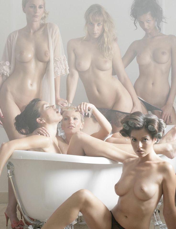 group bubble bath gif