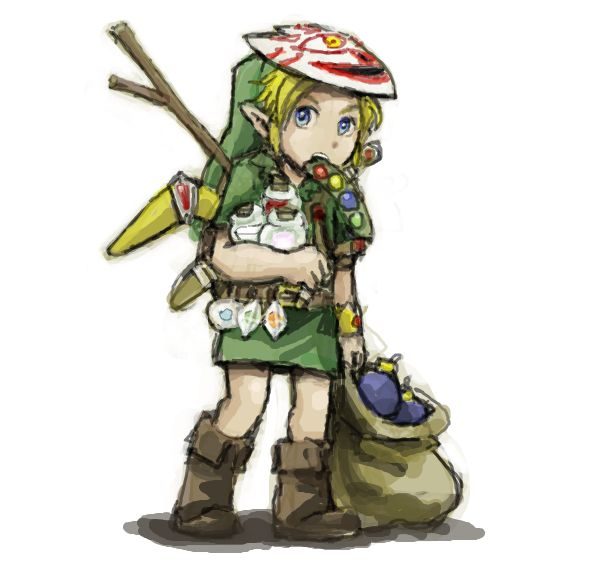 Link's Item 1 by ~DC9spot So that's what Link looks like ...