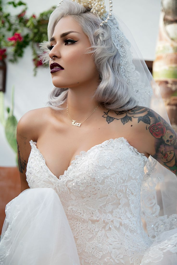 17 best images about tattooed brides